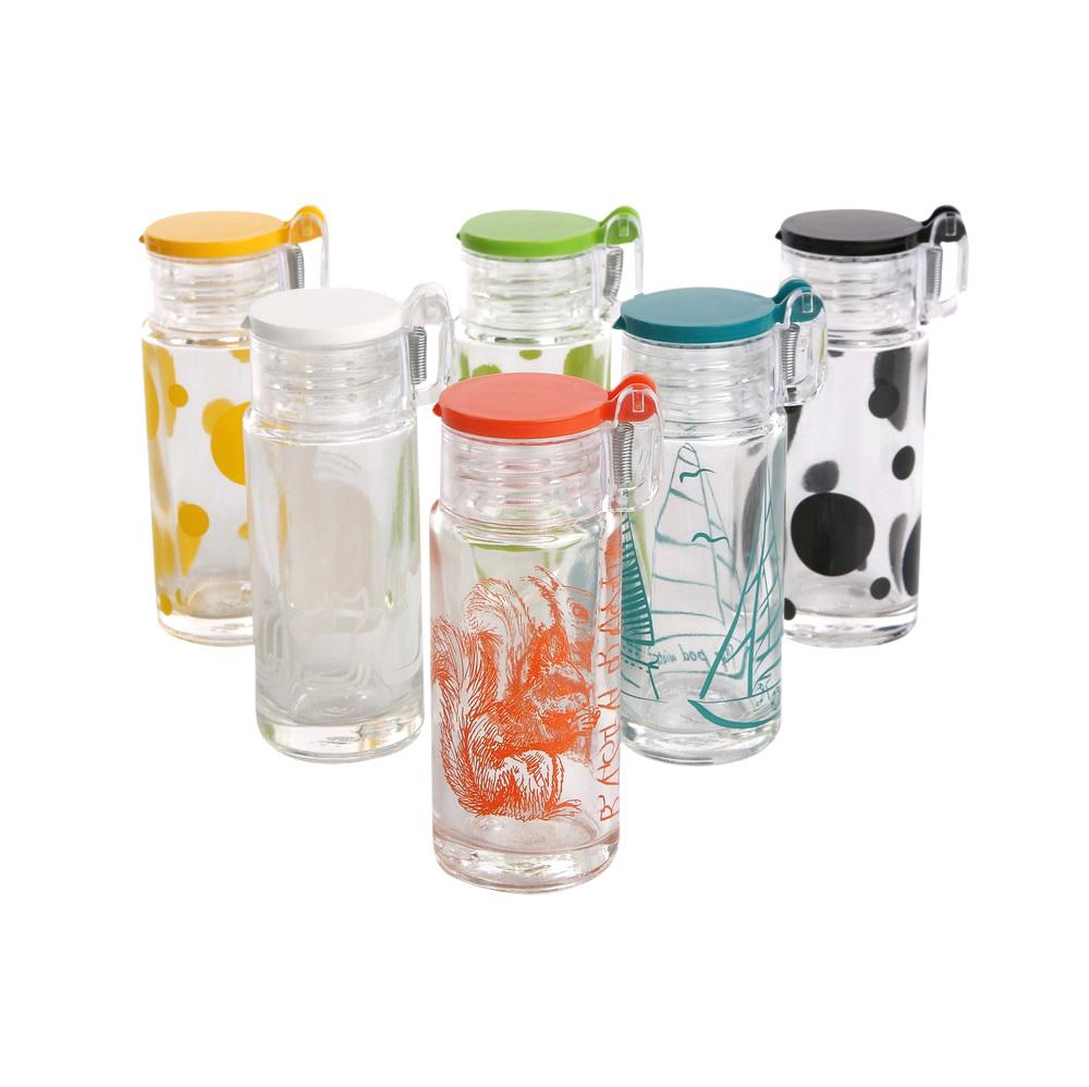 Solniczka szklana malowana Altom Design 4x8,7 cm