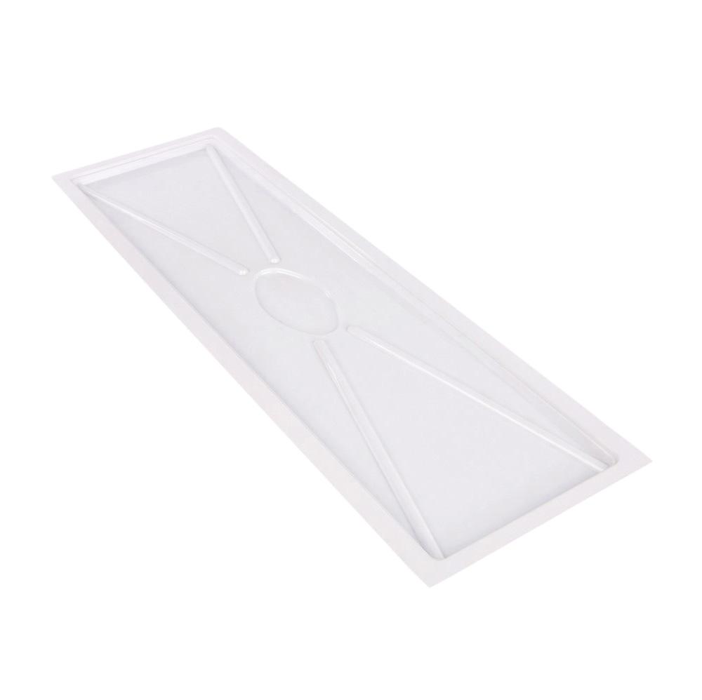 Tacka do suszarki do naczyń twarda Warmel 74,5x23,5 cm