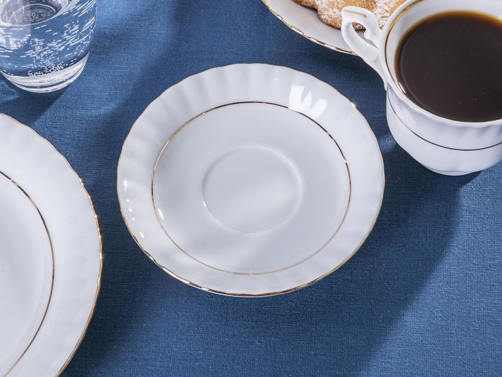 Spodek porcelanowy Chodzież Iwona Złoty Pasek 14 cm