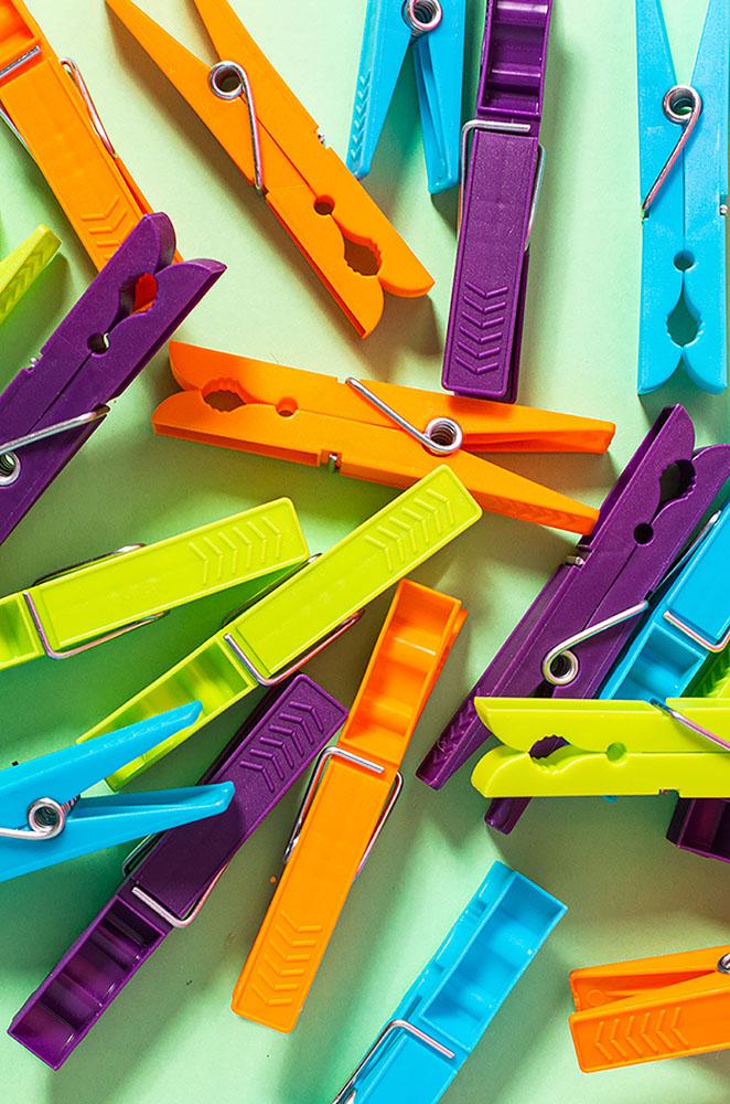 Klamerki plastikowe MTM (20 sztuk)