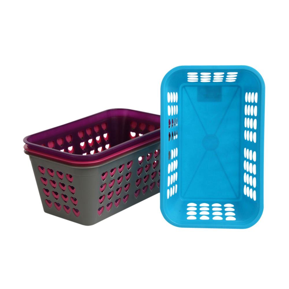 Kosz plastikowy łazienkowy MTM 24,5x15,5x10,5 cm