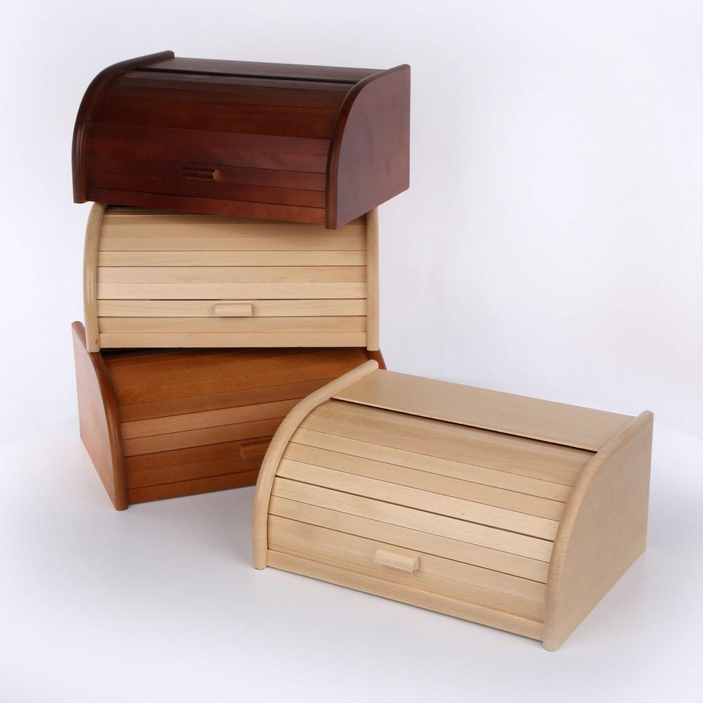 Chlebak drewniany z żaluzją