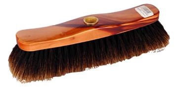 Szczotka do zamiatania lakierowana końskie włosie Starmann Lux 28 cm