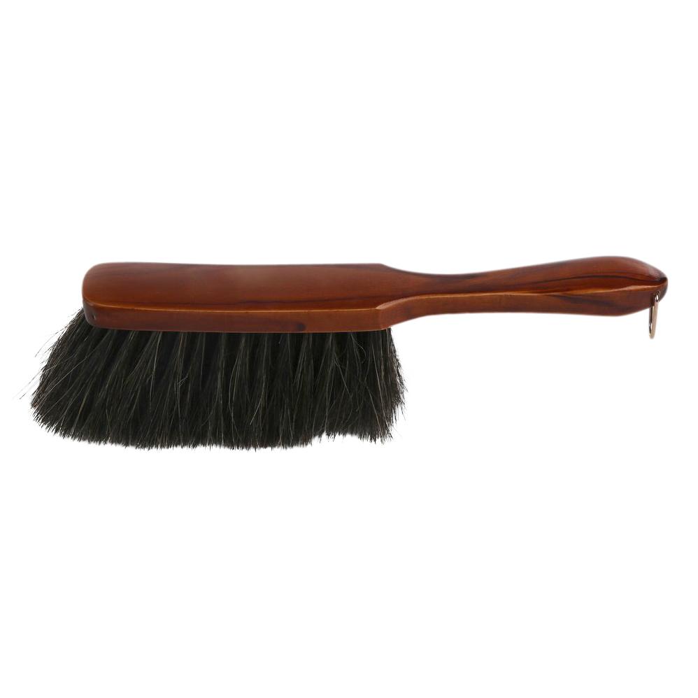 Szczotka / zmiotka lakierowana końskie włosie Starmann Lux 29 cm
