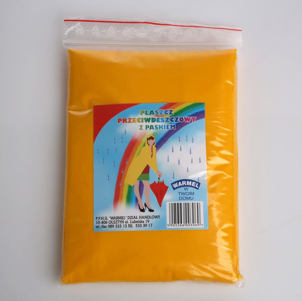 Płaszcz przeciwdeszczowy z paskiem Warmel