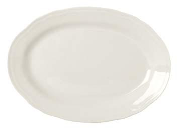 Castel oval dish nodecorated 35,5cm