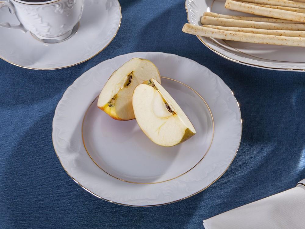 Talerz deserowy porcelana Ćmielów Rococo 3604 19 cm